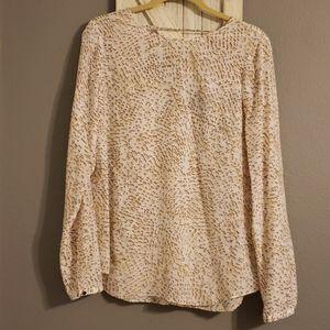 WHBM 100% Silk Blouse Size 10